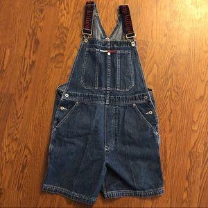 Tommy Hilfiger | 90s Vintage Denim Overall Shorts